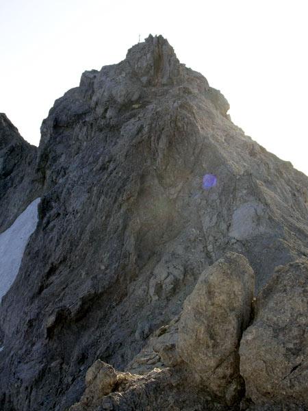 Foto: Datzi / Wander Tour / Bergtour auf die Hocheisspitze (Biwak) / Der Gipfelanstieg / 21.11.2009 18:40:57