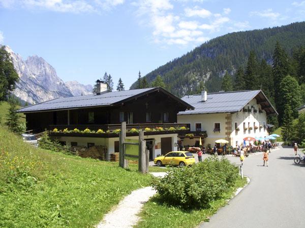 Foto: Datzi / Wander Tour / Bergtour auf die Hocheisspitze (Biwak) / Gasthof Hirschbichl / 21.11.2009 18:31:05