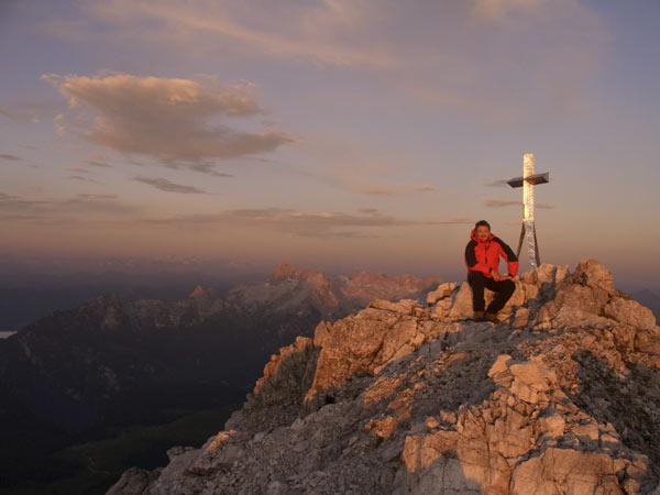 Foto: Datzi / Wander Tour / Bergtour auf die Hocheisspitze (Biwak) / Die Hocheisspitze / 21.11.2009 18:42:26