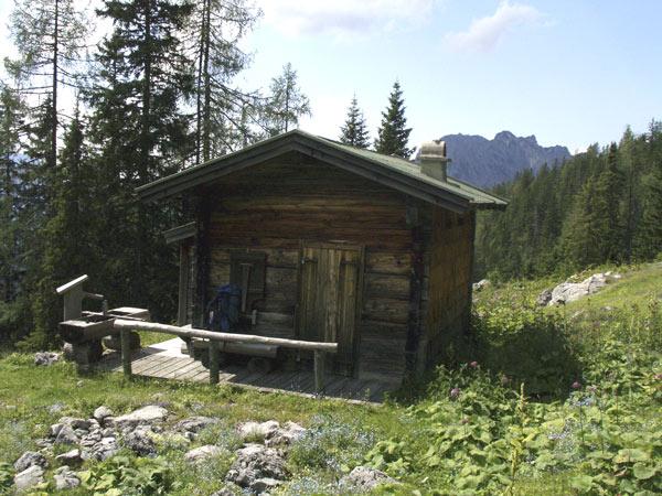 Foto: Datzi / Wander Tour / Bergtour auf die Hocheisspitze (Biwak) / Hocheisalm / 21.11.2009 18:35:04