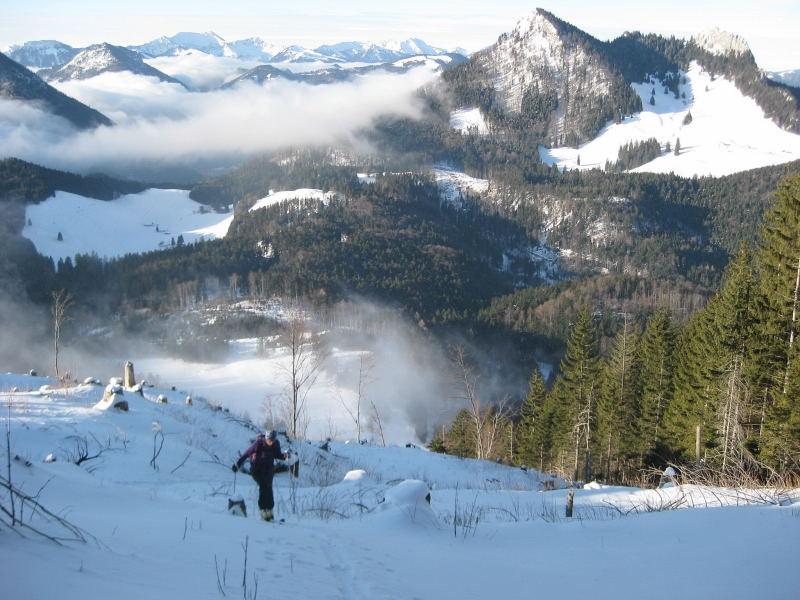 Foto: Wolfgang Lauschensky / Ski Tour / Feichteck (1514m) / Kitzstein und Heuberg / 22.11.2009 12:17:33