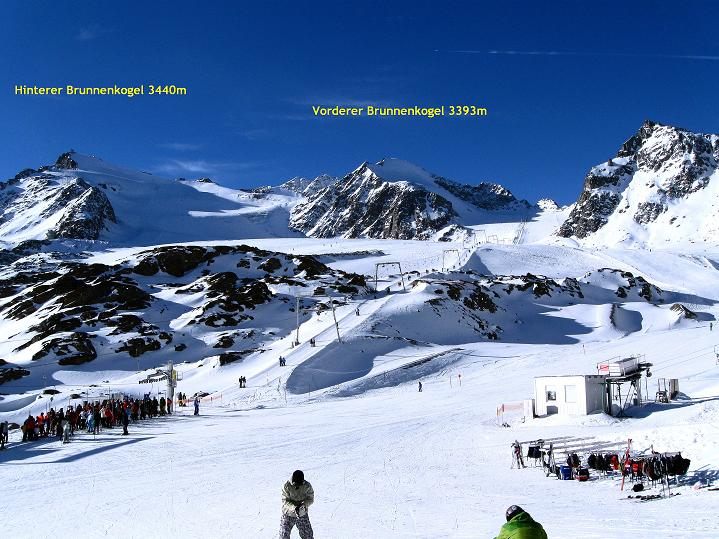Foto: Andreas Koller / Ski Tour / Trainingstour auf den Hinteren Brunnenkogel (3440 m) / 24.11.2009 21:02:00