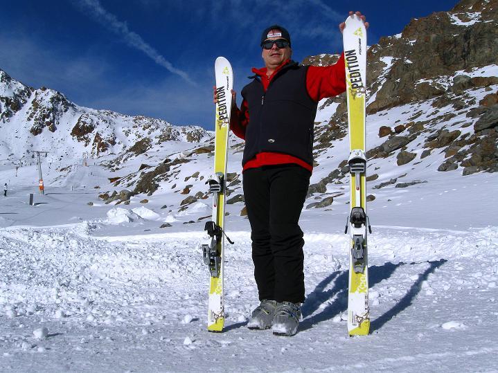 Foto: Andreas Koller / Ski Tour / Trainingstour auf den Hinteren Brunnenkogel (3440 m) / 24.11.2009 21:01:55
