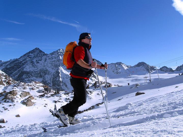 Foto: Andreas Koller / Ski Tour / Trainingstour auf den Hinteren Brunnenkogel (3440 m) / 24.11.2009 21:01:38