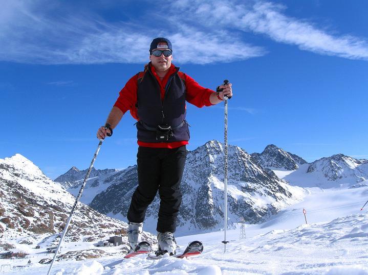 Foto: Andreas Koller / Ski Tour / Trainingstour auf den Hinteren Brunnenkogel (3440 m) / 24.11.2009 21:01:26