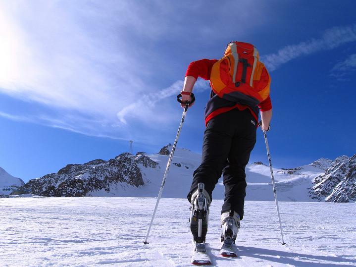 Foto: Andreas Koller / Ski Tour / Trainingstour auf den Hinteren Brunnenkogel (3440 m) / 24.11.2009 21:00:48