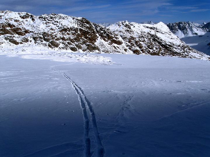 Foto: Andreas Koller / Ski Tour / Trainingstour auf den Hinteren Brunnenkogel (3440 m) / 24.11.2009 21:00:30