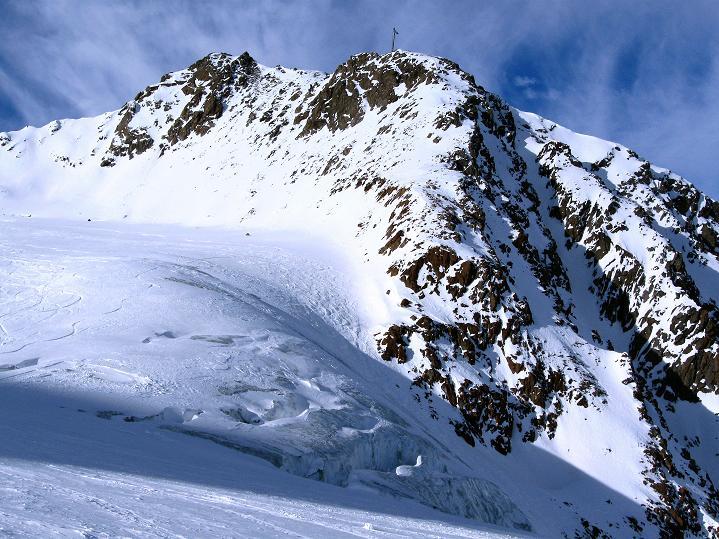 Foto: Andreas Koller / Ski Tour / Trainingstour auf den Hinteren Brunnenkogel (3440 m) / 24.11.2009 20:59:40