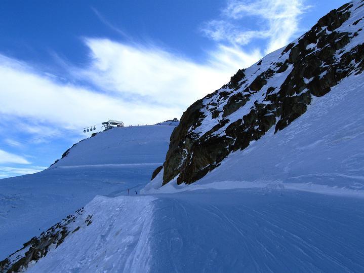 Foto: Andreas Koller / Ski Tour / Trainingstour auf den Hinteren Brunnenkogel (3440 m) / Der Gipfel ist bereits in Sicht / 24.11.2009 20:58:32