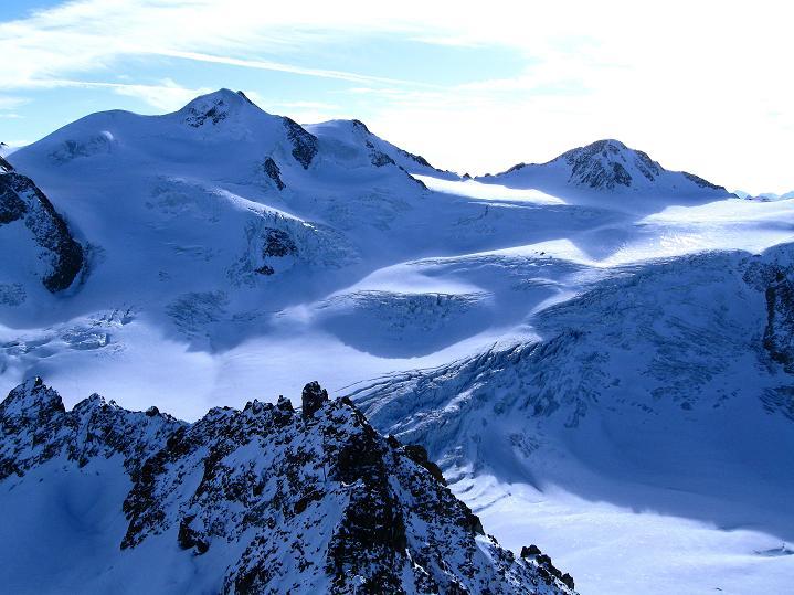 Foto: Andreas Koller / Ski Tour / Trainingstour auf den Hinteren Brunnenkogel (3440 m) / Wildspitze (3770 m) / 24.11.2009 20:56:58