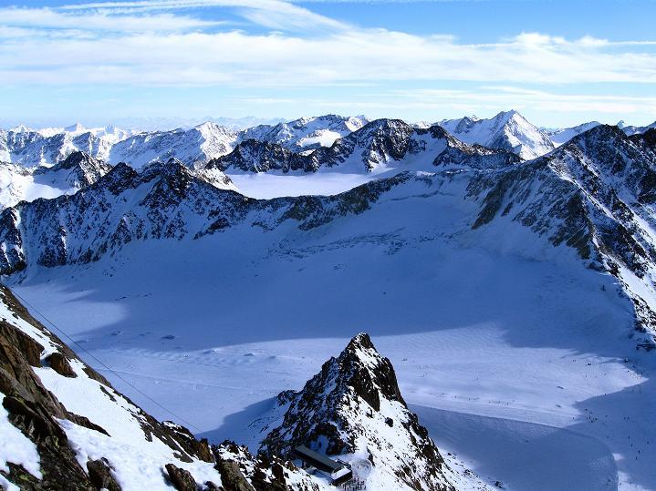 Foto: Andreas Koller / Ski Tour / Trainingstour auf den Hinteren Brunnenkogel (3440 m) / 24.11.2009 20:56:21