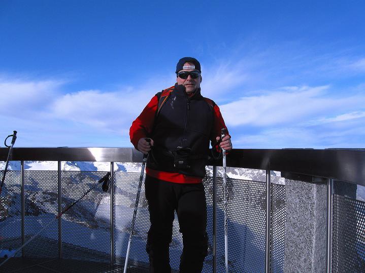 Foto: Andreas Koller / Ski Tour / Trainingstour auf den Hinteren Brunnenkogel (3440 m) / Am Hinteren Brunnenkogel / 24.11.2009 20:55:31