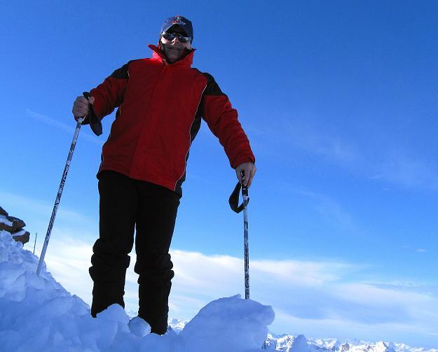 Foto: Andreas Koller / Ski Tour / Trainingstour auf den Hinteren Brunnenkogel (3440 m) / 24.11.2009 20:54:33