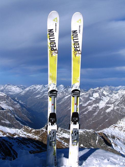 Foto: Andreas Koller / Ski Tour / Trainingstour auf den Hinteren Brunnenkogel (3440 m) / 24.11.2009 21:02:14