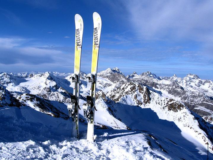 Foto: Andreas Koller / Ski Tour / Trainingstour auf den Hinteren Brunnenkogel (3440 m) / 24.11.2009 20:54:15