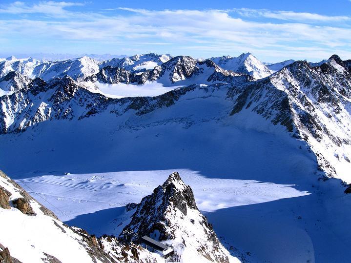Foto: Andreas Koller / Ski Tour / Trainingstour auf den Hinteren Brunnenkogel (3440 m) / 24.11.2009 20:53:14