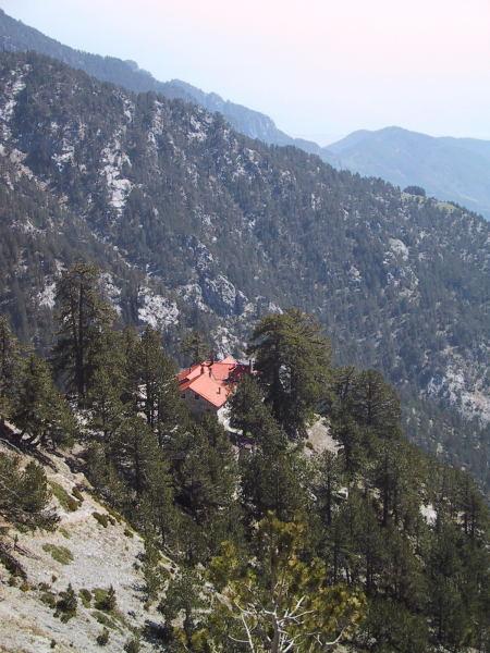 Foto: Wolfgang Lauschensky / Wander Tour / Mytikas 2917m, Olymp / oberhalb der Hütte A - Spilios Agapitos / 24.11.2009 18:24:21
