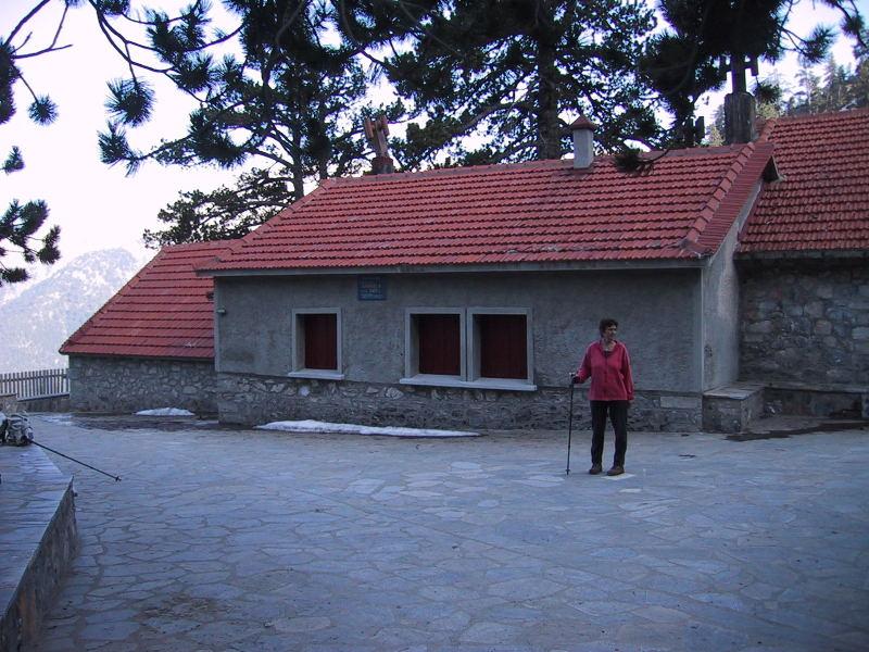 Foto: Wolfgang Lauschensky / Wander Tour / Mytikas 2917m, Olymp / die sichere Hütte A leider geschlossen / 24.11.2009 18:21:52