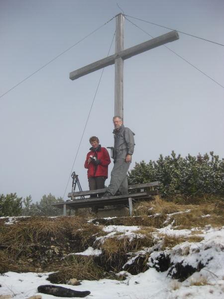 Foto: Wolfgang Lauschensky / Wander Tour / Plessenberg - Heuberg - Kienberg / Kienberggipfel / 29.11.2009 17:26:06