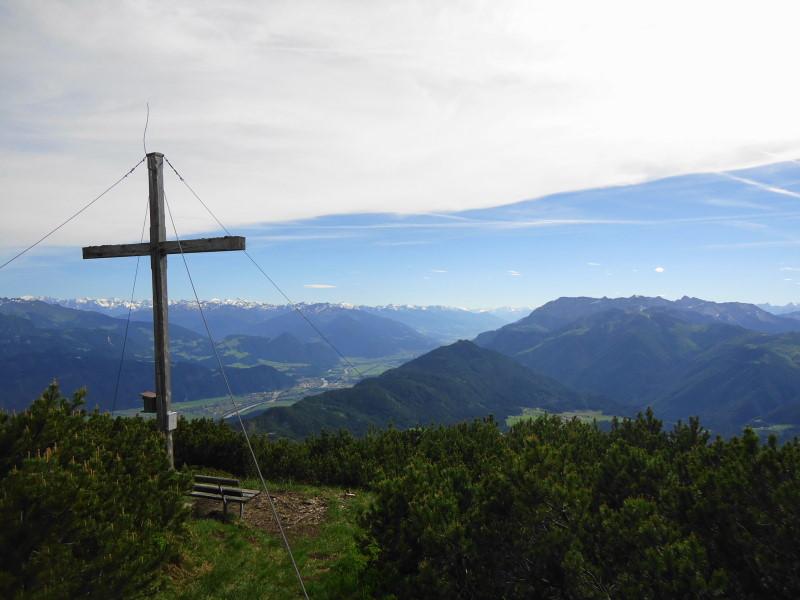 Foto: Günter Siegl / Wander Tour / Plessenberg - Heuberg - Kienberg / Gipfel Kienberg / 09.06.2017 20:02:59