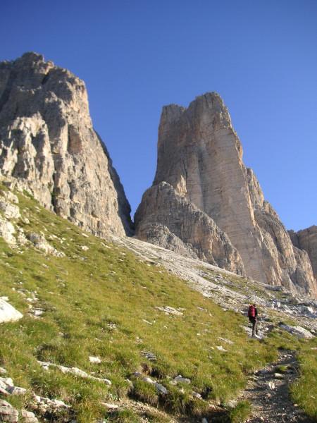 Foto: Wolfgang Lauschensky / Kletter Tour / Große Zinne Südwand - Normalweg / Zustieg Richtung Scharte Große/Kleine Zinne / 30.11.2009 14:30:14