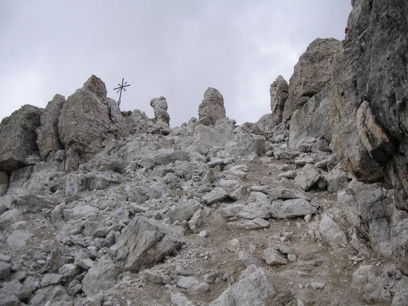 Foto: Wolfgang Lauschensky / Kletter Tour / Große Zinne Südwand - Normalweg / geneigter Gipfelanstieg / 30.11.2009 14:26:39