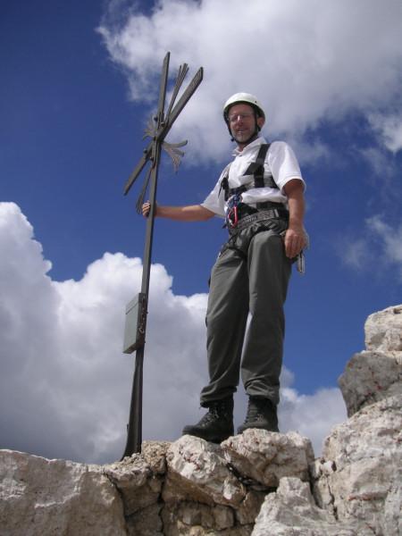 Foto: Wolfgang Lauschensky / Kletter Tour / Große Zinne Südwand - Normalweg / Zinnenkreuz / 30.11.2009 14:26:19
