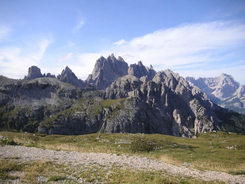 Foto: Wolfgang Lauschensky / Klettersteig Tour / Via ferrata Merlone auf die Cadinspitze NE / Cadingruppe vom Rif.Auronzo / 02.12.2009 19:32:13