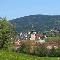 Foto: Ferienregion Böhmerwald / Wander Tour / Schlägler Rundweg / Stift Schlägl / 09.12.2009 10:07:45