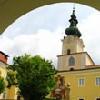 Foto: Ferienregion Böhmerwald / Wander Tour / Schlägler Rundweg / Innenhof Stift Schlägl / 07.12.2009 10:48:02