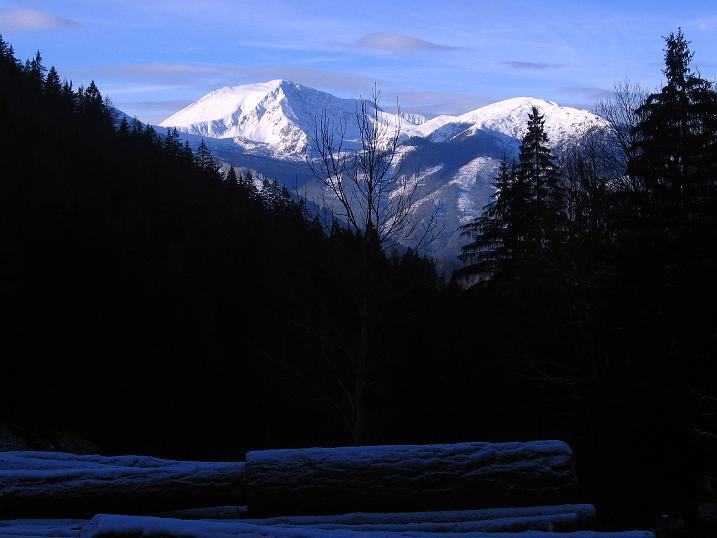 Foto: Andreas Koller / Wander Tour / Aus der Zidritz auf die Kahlwandspitze (2090 m) / Ausgangspunkt ist der Zidritz-Graben / 06.12.2009 23:05:08