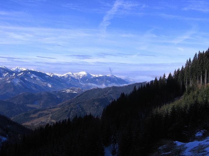 Foto: Andreas Koller / Wander Tour / Aus der Zidritz auf die Kahlwandspitze (2090 m) / 06.12.2009 23:04:23
