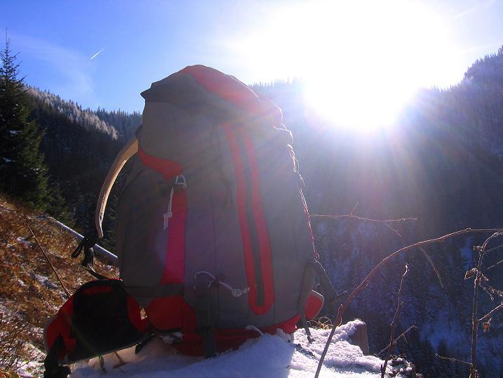 Foto: Andreas Koller / Wander Tour / Aus der Zidritz auf die Kahlwandspitze (2090 m) / 06.12.2009 23:04:04