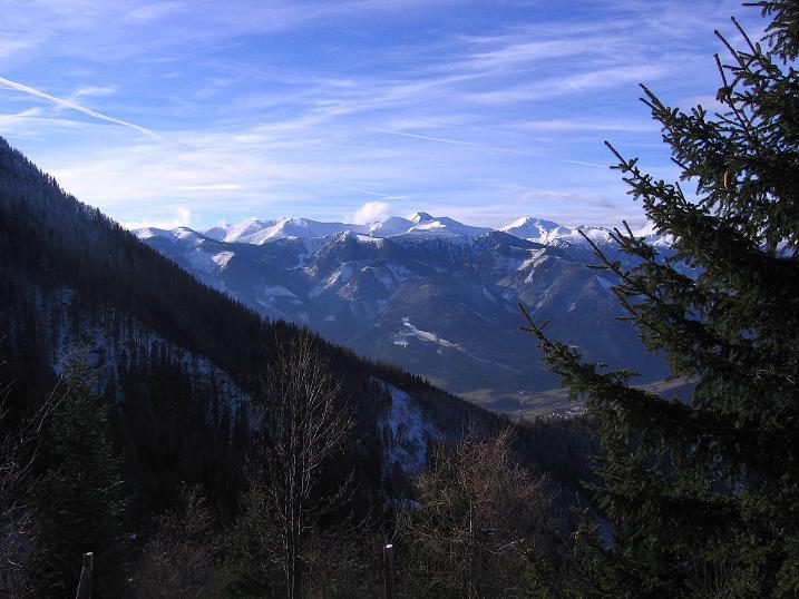 Foto: Andreas Koller / Wander Tour / Aus der Zidritz auf die Kahlwandspitze (2090 m) / 06.12.2009 23:03:43