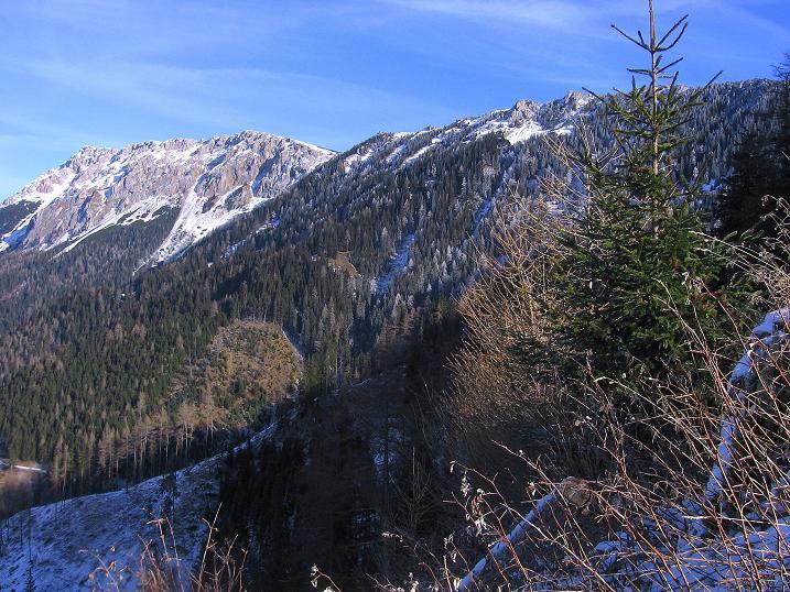 Foto: Andreas Koller / Wander Tour / Aus der Zidritz auf die Kahlwandspitze (2090 m) / 06.12.2009 23:03:03
