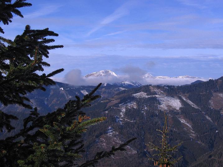 Foto: Andreas Koller / Wander Tour / Aus der Zidritz auf die Kahlwandspitze (2090 m) / 06.12.2009 23:02:46
