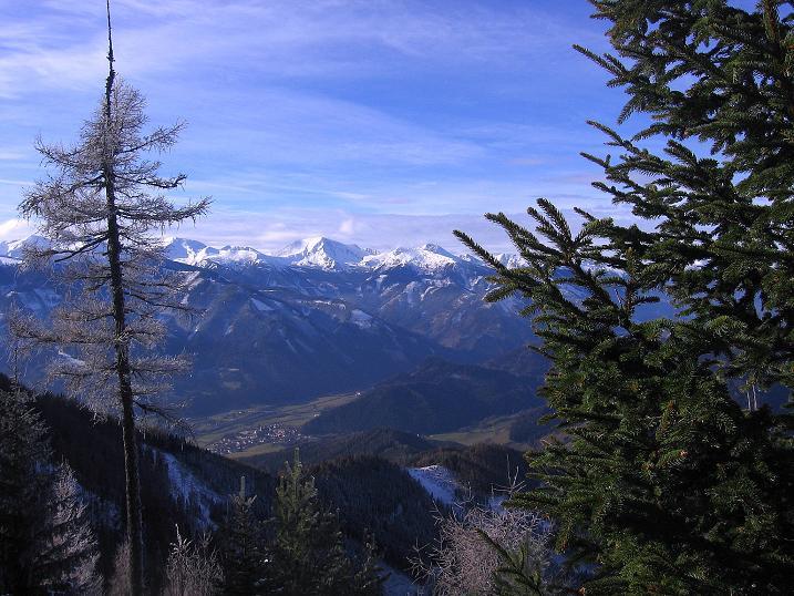 Foto: Andreas Koller / Wander Tour / Aus der Zidritz auf die Kahlwandspitze (2090 m) / 06.12.2009 23:02:29