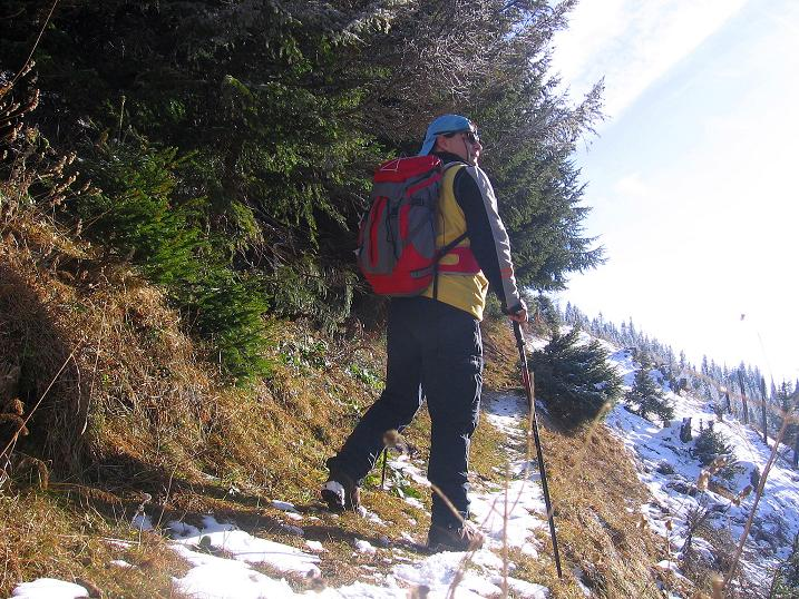 Foto: Andreas Koller / Wander Tour / Aus der Zidritz auf die Kahlwandspitze (2090 m) / 06.12.2009 23:02:20
