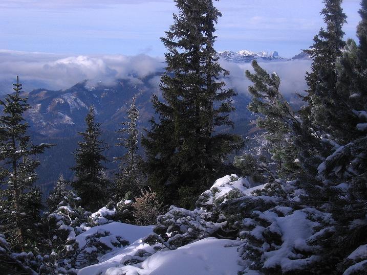 Foto: Andreas Koller / Wander Tour / Aus der Zidritz auf die Kahlwandspitze (2090 m) / 06.12.2009 23:01:22