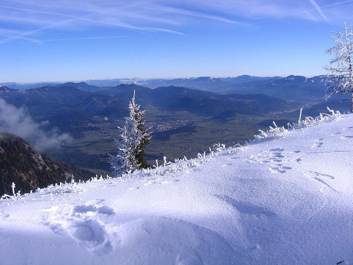 Foto: Andreas Koller / Wander Tour / Aus der Zidritz auf die Kahlwandspitze (2090 m) / 06.12.2009 23:00:58