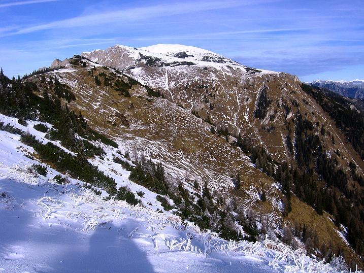 Foto: Andreas Koller / Wander Tour / Aus der Zidritz auf die Kahlwandspitze (2090 m) / Gößeck-Gruppe / 06.12.2009 23:00:16
