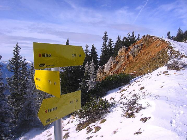 Foto: Andreas Koller / Wander Tour / Aus der Zidritz auf die Kahlwandspitze (2090 m) / 06.12.2009 22:59:56