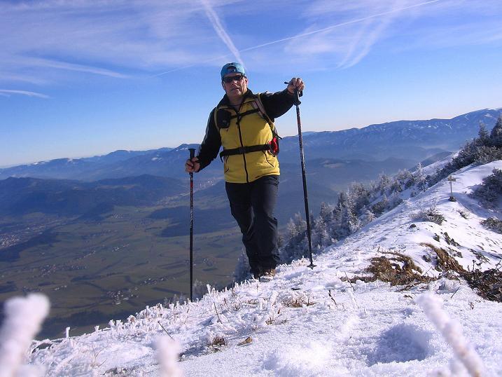 Foto: Andreas Koller / Wander Tour / Aus der Zidritz auf die Kahlwandspitze (2090 m) / 06.12.2009 22:59:47