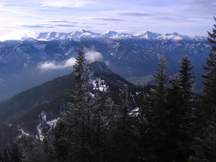 Foto: Andreas Koller / Wander Tour / Aus der Zidritz auf die Kahlwandspitze (2090 m) / Niedere Tauern / 06.12.2009 22:59:23