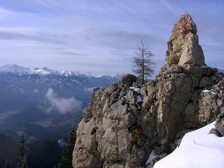 Foto: Andreas Koller / Wander Tour / Aus der Zidritz auf die Kahlwandspitze (2090 m) / 06.12.2009 22:58:37