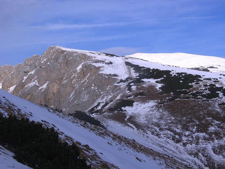 Foto: Andreas Koller / Wander Tour / Aus der Zidritz auf die Kahlwandspitze (2090 m) / Kahlwandspitze und Grieskogel (2148 m) / 06.12.2009 22:58:15