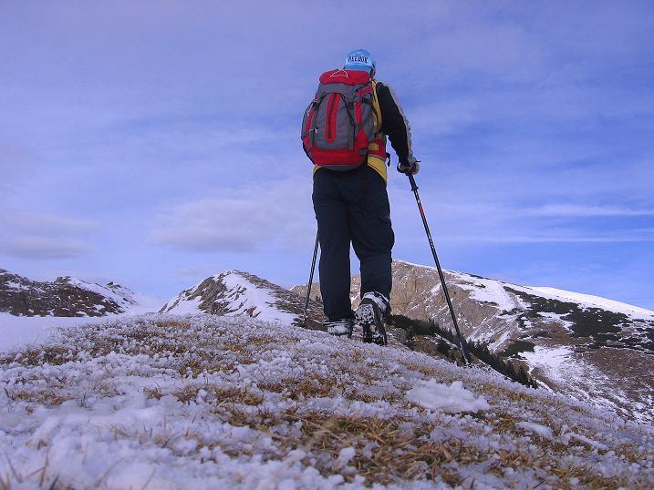 Foto: Andreas Koller / Wander Tour / Aus der Zidritz auf die Kahlwandspitze (2090 m) / 06.12.2009 22:57:23