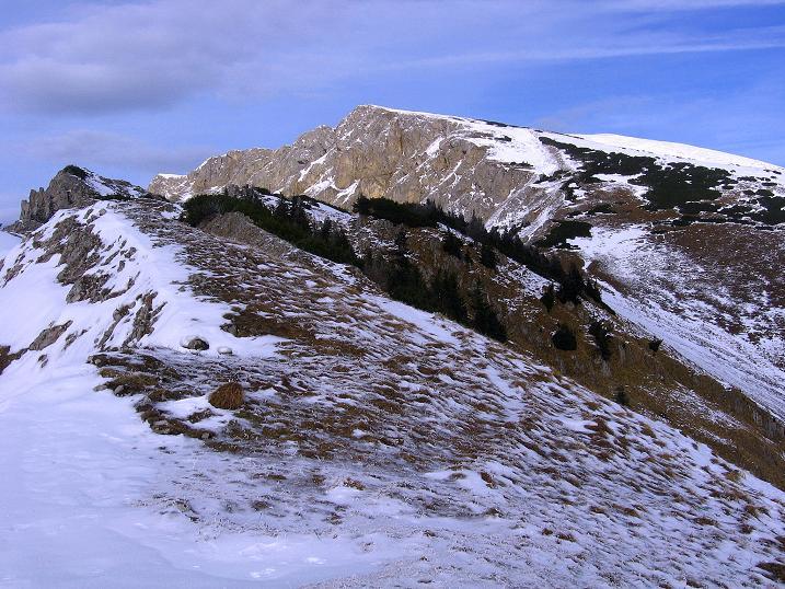 Foto: Andreas Koller / Wander Tour / Aus der Zidritz auf die Kahlwandspitze (2090 m) / 06.12.2009 22:57:15