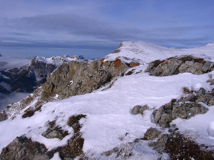 Foto: Andreas Koller / Wander Tour / Aus der Zidritz auf die Kahlwandspitze (2090 m) / Auf der Kahlwandspitze / 06.12.2009 22:55:03