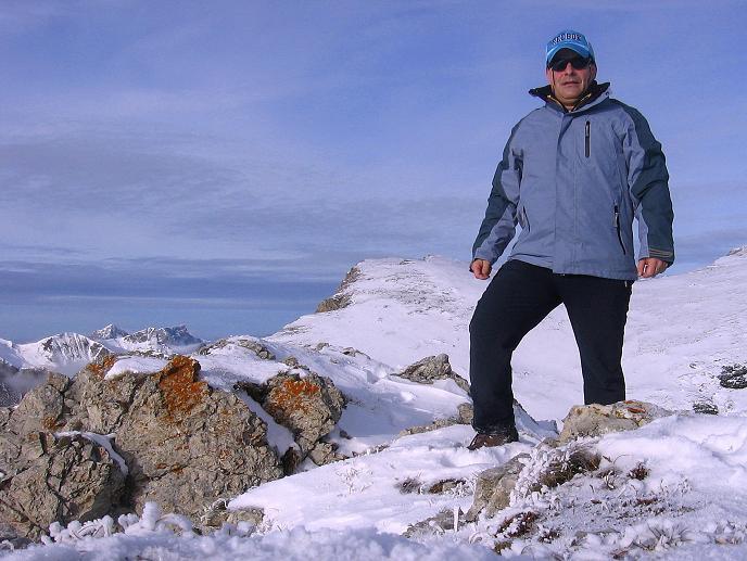 Foto: Andreas Koller / Wander Tour / Aus der Zidritz auf die Kahlwandspitze (2090 m) / 06.12.2009 22:54:22